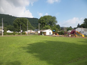 picture of finished playground